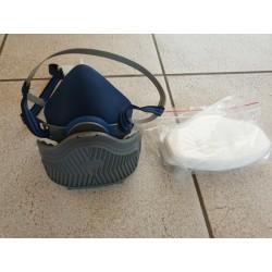 Masque silicone KN95 + 6 filtres 35,00€
